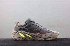 Orijinal Kutusu ile seksi 700 Leylak Kanye West Dalga Runner Mor 3m Spor Ee9614 Sneakers 700 V2 Statik Otantik Açık Ayakkabı