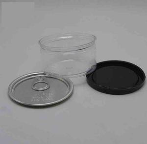 Herbes Tabac Métal récent Tin Can Box Pop-Top Cali avec Easy Open End étiquette personnalisée et couvercle 66 ABRI DES ENFANTS (D) x33 (h) mm