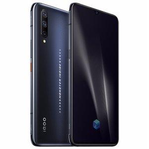 """4G d'origine Vivo iQOO Pro LTE Cell Phone 12Go RAM 128Go ROM Snapdragon 855 plus Octa de base 6,41"""" Plein écran 48MP ID d'empreintes digitales Téléphone mobile"""