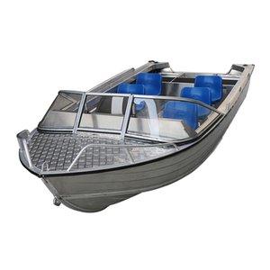 Basit bir tarzı Alüminyum Alaşım Tekne Balıkçı Gemisi Gemi Sürat teknesi 4/6/8 kişi Hücumbot Su Sporları