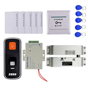 Система управления Fingerprint RFID ID Card Reader двери Access Kit 10KEY Card +