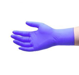 Одноразовые нитриловые Перчатки защитные для очистки пищевые Перчатки Универсальный Бытовая сад Чистящие перчатки Завод