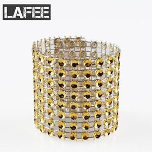Free Shipping 100pcs lot rhinestone napkin rings for wedding table decoration,nickle plating?Diamond