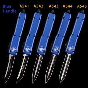 Otomatik MT UTX 85 bıçak çift eylem Taktik mikro bıçak teknoloji çakı alüminyum kulp oto SAVAŞ KIRMIZI KULP EDC ARAÇLARI