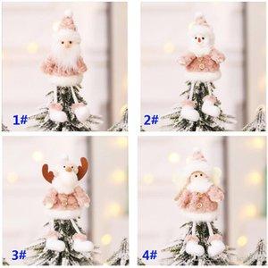 Decorações de Natal Criativo Natal Pendant Papai Noel Boneco Plush Doll Christmas Tree pingente pendurado ornamentos HH9-2482
