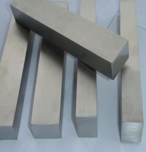 gr2 قضبان التيتانيوم الخالص مربع التيتانيوم بار مربع سعر بار لكل كيلوغرام للصناعات Gr1 Gr2 GR5 Titanium Flat Square Bars للصناعة