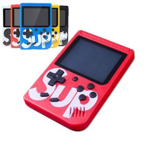 3,0 pollici bambini del giocatore del gioco Con 1000mAh batteria TV Out Sup scatola del gioco Retro mini console portatile