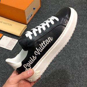 Zapatos planos para hombre Fashion Time Out Sneaker con estampado de logo Zapatos casuales de lujo para hombres Flats Chaussures pour hommes Hombres Zapatos Tipo de moda