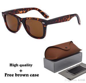 Top Quality Brand Designer Men Women Sunglasses Metal Hinge (100% Glass Lens) Plank Frame Vintage Unisex eyeglasses With Case and box rehrh