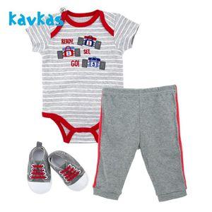 Kavkas Newborn Baby Overalls Racing Cars Theme Jumpsuit Summer Halloween Baby Clothing Set Romper Bebek Giyim