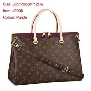 venta caliente 6colors Mujer Piel Pallas Bolsa de hombro Bolsos de compras bolsas de mano monedero de alta calidad con la bolsa B17811