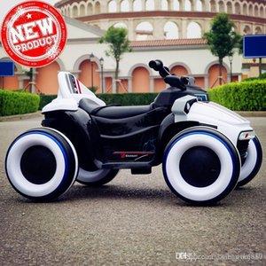 Uzaktan kumanda ile 2019 çocuk çocuk bebek elektrikli araba rideable Parlak dört tekerlekli motosiklet araçlar-road kapalı binmek Can