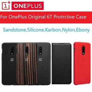 ellphones Telekommunikation Original-OnePlus 6T Fall Stock A6013 Official Box 100% Original (Preise Bulk) OnePlus 6T Silikon-Nylon Sa ...