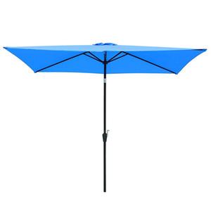 파티오 사각형 우산 캐노피 교체 캐노피 야외 시장 데크 커버 그늘