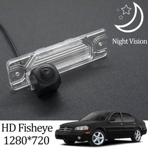 Owtosin HD 1280*720 Fisheye Rear View Camera For Maxima 5 2000 2002 Car Vehicle Reverse Parking Monitor