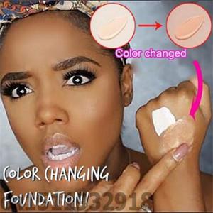 30 мл TLM изменяющий цвет жидкий тональный крем для макияжа изменяет тон кожи, просто смешивая