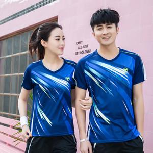 New Quick seco Badminton camisa esporte, camisa de Tênis Masculino / Feminino, Badminton Tênis De Mesa Jerseys, T-shirts de Tênis A117