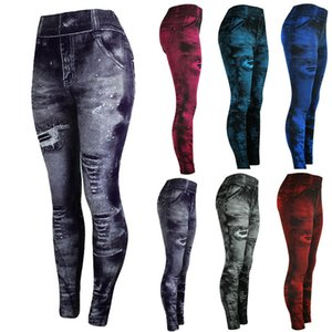 Jeans Bottom Pants Coloured Hip-up Super Bomb Slim Nine-minute Pants Tight Elasticity Pantalones Mujer