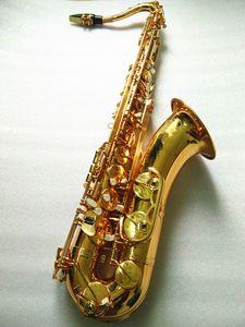Nuovo sassofono Tenor VI Sassofono Sassofono di alta qualità 95% di copia Strumenti Sassofono in ottone dorato con cappotto Bocchino
