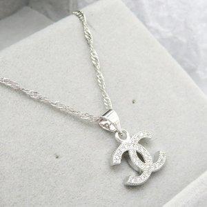 Последние Роскошная бриллиантовое ожерелье женщин Mens ожерелье моды в Париже марка ожерелья Изысканный подарок ювелирных изделий Instock
