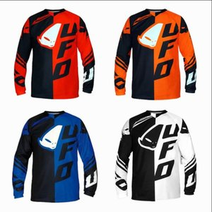 UFO downhill suit mountain bike riding suit long-sleeved shirt male summer off-road motorcycle racing suit quick-drying T-shirt