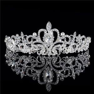Han Edition 크라운 다이아몬드 웨딩 드레스 머리 장식 꽃 액세서리 도매 신부 헤어 액세서리 제조 업체 Tiaras