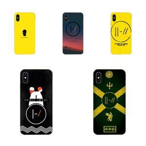 Tarjetero iphone Twenty One Pilipers For Xiaomi Mi3 Mi4c Mi4i Mi5 Mi5 5S 5X 6X 8 SE Pro Lite A1 Max 2 Note 3 4 Soft TPU Protective