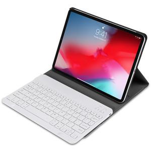 Creativa teclado inalámbrico Bluetooth para el iPad con el caso de cuero para el iPad 2017/2018 de aire 1 2 Pro 9.7 40.5 11 pulgadas