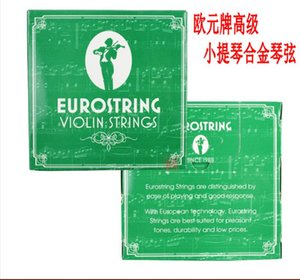 Violino cordas Euro marca violino cordas de arame de aço de liga de 44 cadeias de som efeito boa sensibilidade elevada