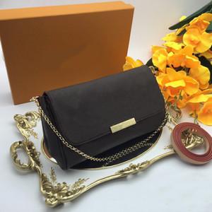 Любимый MM Crossbody сумки M40718 женщин сумки кошельки классический стиль натуральная кожа сумки плеча сумки дорожные сумки