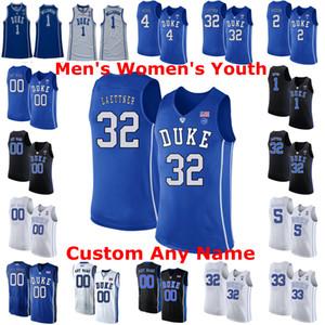 Duke Blue Devils Koleji Basketbol Formalar 15 Alex O'Connell Jersey Seth 30 Curry Rodney 5 Hood Quinn 2 Cook 13 Joey Baker Özel Dikişli