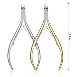 Professional Fingernail Toenail Cuticle Nipper Trimming Stainless Steel Nail Clipper Cutter Cuticle Scissor Plier Manicure Tool