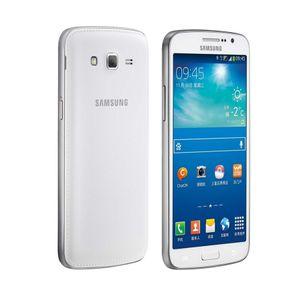 "Original reformado Samsung Galaxy Grand2 G7102 1.5GBRAM 8GBROM QuadCore 2600mAh 5.25 ""Android4.3 8MP Dual Sim 3G WCDMA Caja sellada opcional"