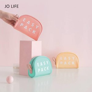 JO LIFE Portable Storage Bag Gadgets Cables Wires Organizer Waterproof Multifunctional Travel Toiletry Makeup Handbag