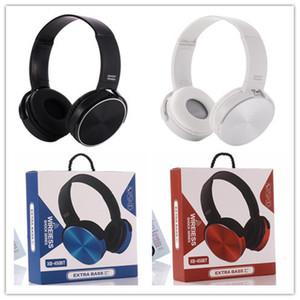 Sans fil Bluetooth Bandeau Écouteurs Casque Extra Basse Casque Filaire Musique Stéréo avec Micro XB450 pour Forfait téléphone portable DHL