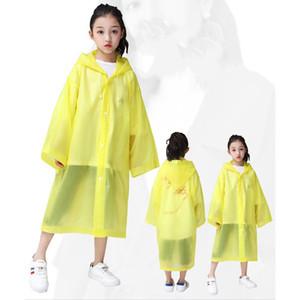 Ребенок Дождевик Дети Изоляция Защитный Всплеск Взрыв Сплошной Цвет Дождевик Мальчики Девочки Открытый Защитная Одежда Топ Quanlity