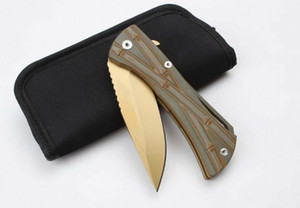 Mitech tactical bearing quick open folding knife camping survival hunting knife knives copies ZT Bench 1 pcs freeshipping