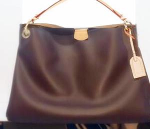 최고 품질의 패션 브랜드의 새로운 우아한 여성 정품 가죽 여성 MM PM 핸드백 좋아하는 가방 토트 지갑
