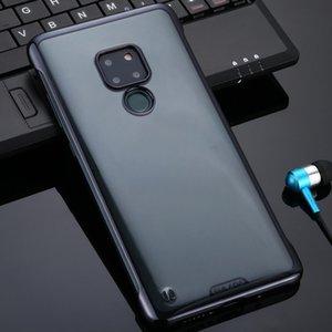 Huawei için 20 SULADA Sınırsız Bırak geçirmez Vakum Kaplama PC Kılıfı Mate