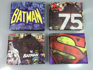 DC Comics Super héros Superman Batman Batman Clown Portefeuille Portefeuille