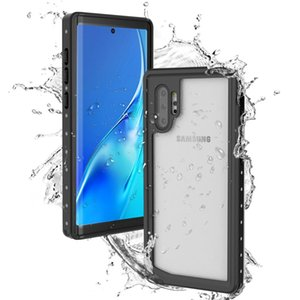Funda impermeable IP68 para Samsung Galaxy Note 10 Plus Coque de buceo a prueba de golpes con protección completa para Samsung Note 10 Estuche bajo el agua