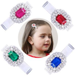 Los niños de la gema del pelo Pinza Clip Diamante lindo simple de la historieta Pequeño fresca elegante dulce de tela temperamento salvaje 24