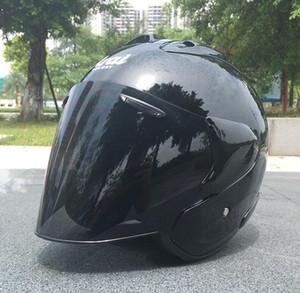 Venda imperdível! 2019 motocicleta capacete capacete com pedal cauda fin fresco motocicleta elétrica passeios a cobertura completa