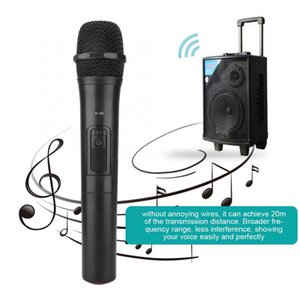 onsumer Electronics Universal UHF Wireless Professional Handheld Microphone Audio Amplifier For Karaoke MIC For Church Performance Audio ...