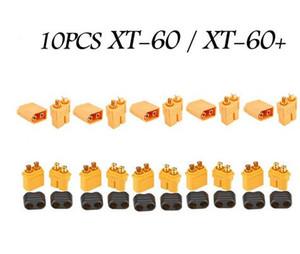 10 UNIDS De XT60 XT-60 / XT60 + / XT30UPB Macho Conectores de Bala Mujer Hembra Para RC Lipo Quadcopter Batería Multicopter
