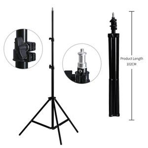 2M (79in) Light Stand tripé com 1/4 parafuso de cabeça para a fotografia Estúdio Softbox Flash Video chuvas refletor iluminação Foto estande