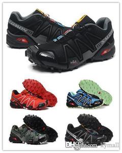 Sıcak Solomon Hız çapraz III Erkekler için CS 3 Trail Koşu Ayakkabı tırmanma ayakkabı Açık Yürüyüş Atletik Spor Sneakers boyutu 40-46 kymall