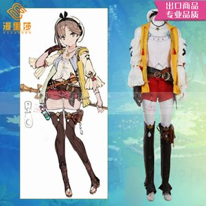 Anime Reisalin stout Dress Cosplay Costume Women Halloween Christmas Cos Party Uniform H