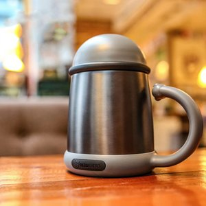 The New Luxury Business Cup Stainless Steel MugThermos CupCar Water Cup
