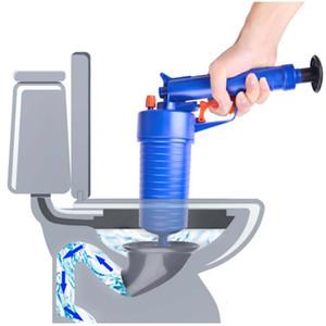 5 Pcs / Set Type De Pression D'air Toilette Piston Haute Pression Air Blaster Pipeline Nettoyage Égout Drain Toilette Réservoir D'eau Tuyau Drague Cleaner Outil